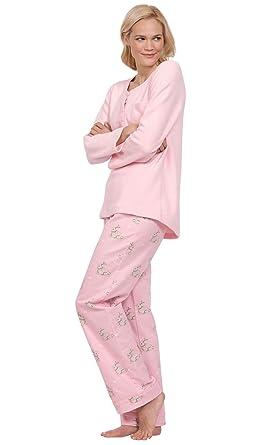 71c1d0aa3 PajamaGram Soft Fleece Pajamas Women - Cozy Pajamas for Women
