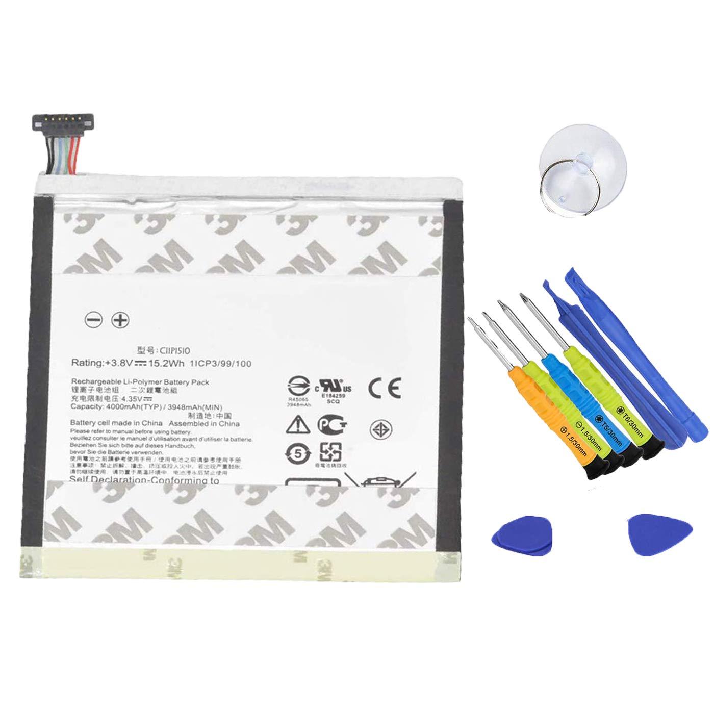 Bateria Asus C11P1510 3.8V 15.2Wh 4000mAh ZenPad S 8.0 Z580C