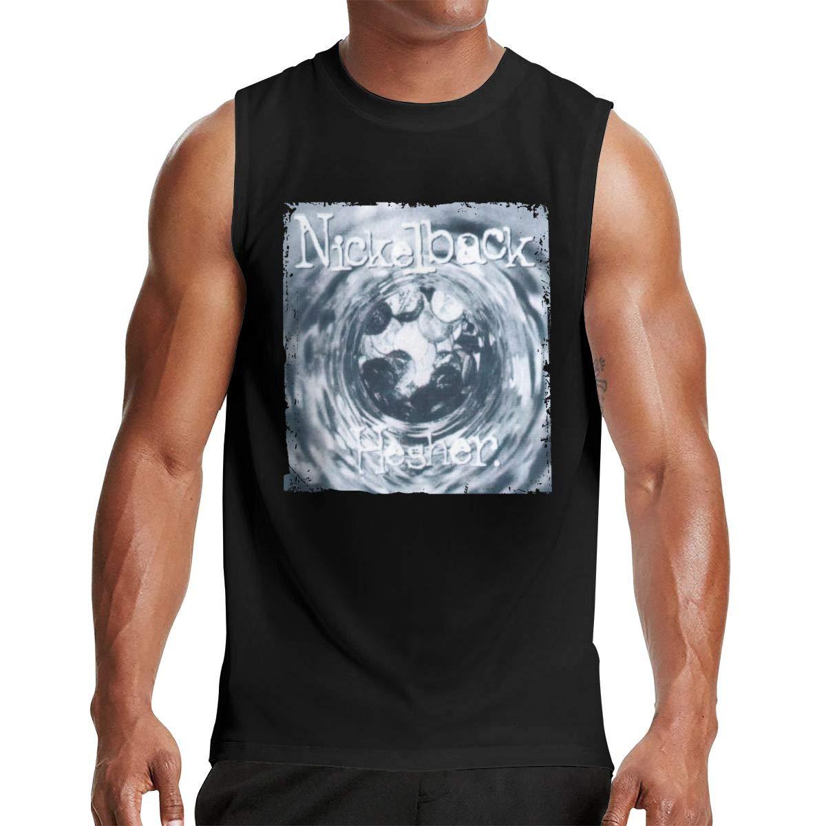 Larry C Dizon Man Nickelback Hesher Fashion Customized Sleeveless T Shirt
