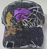 NCAA New Kansas State Wildcats Realtree Mothwing pre-ripped Cap
