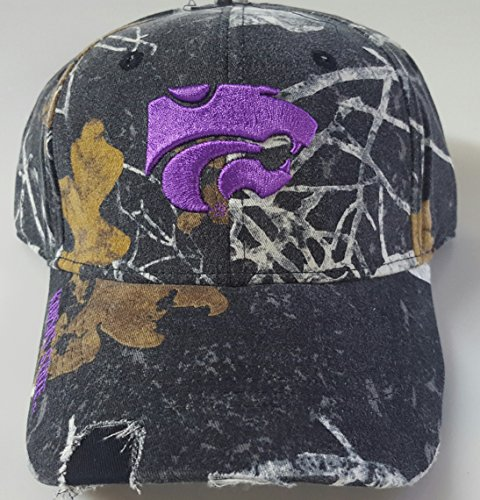 NCAA New Kansas State Wildcats Realtree Mothwing pre-ripped Cap by NCAA