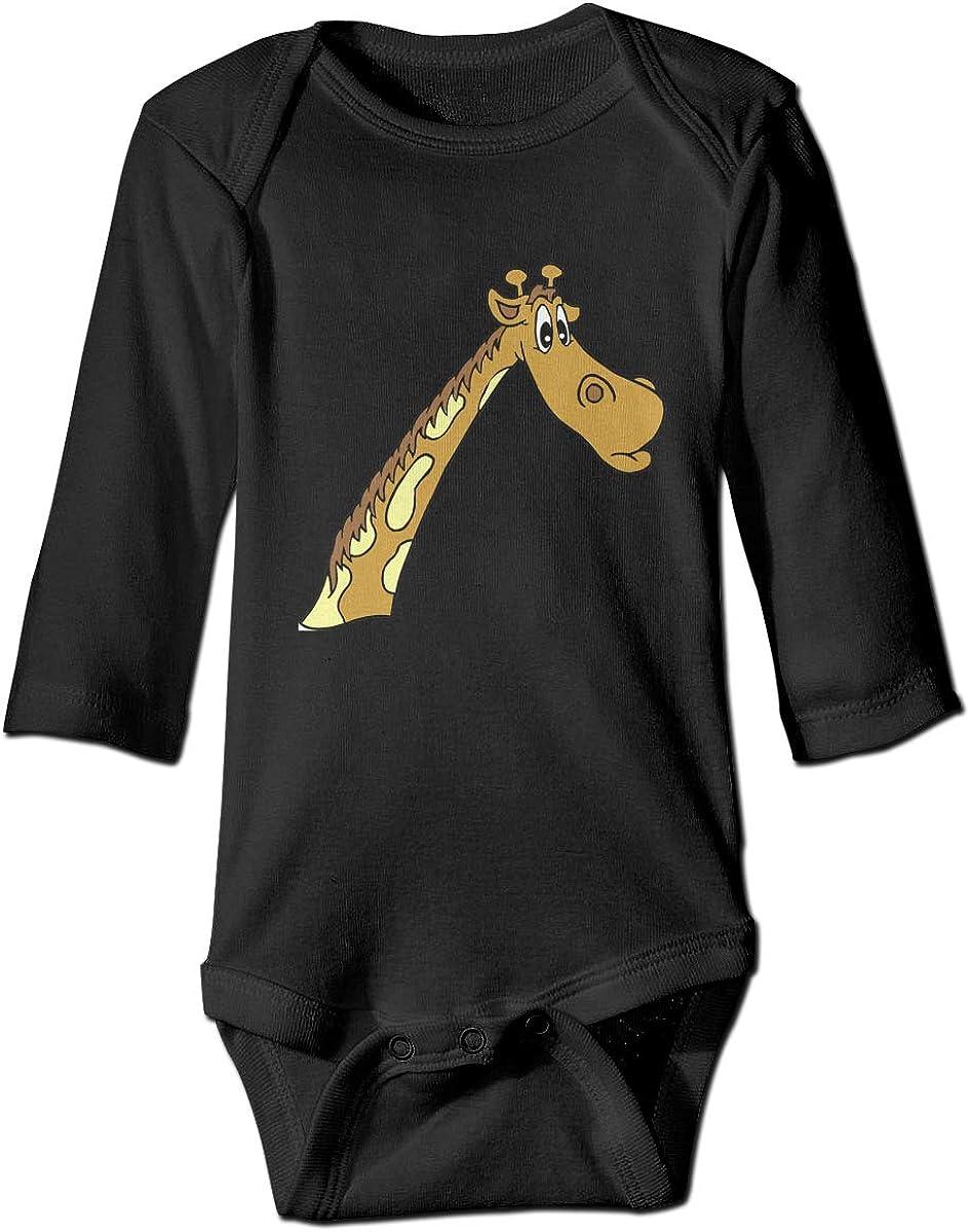SY COMPACT Newborn Baby Girl /& Boys Dear Giraffe Long Sleeve Jumpsuit Romper