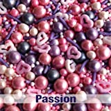 Natural Color Passion GMO, SOY, GLUTEN, DAIRY & NUTS free cake decorations cupcake toppers