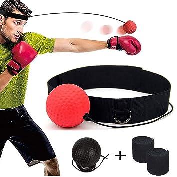 DYBOHF Pelota Boxeo, Boxeo Ball, Fight Ball Reflex en Cadena con ...