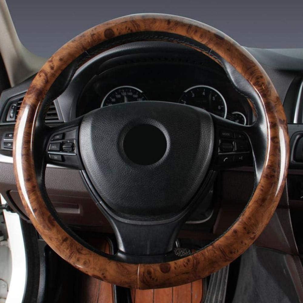 Auto Lenkradbezug 38cm Holz Anti Rutsch Lenkrad Für Die Meisten Fahrzeuge Auto