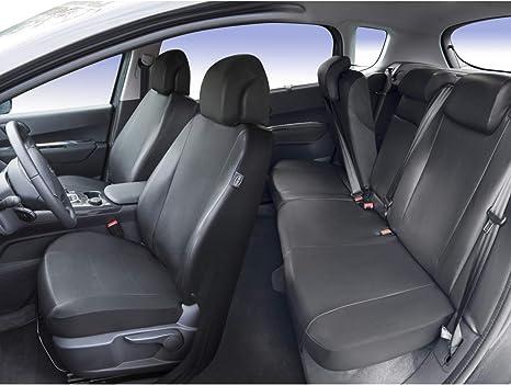 Compatible Airbag DBS Housse de si/ège Auto//Voiture Finition Haut de Gamme sur Mesure Montage Rapide 1011550 Isofix
