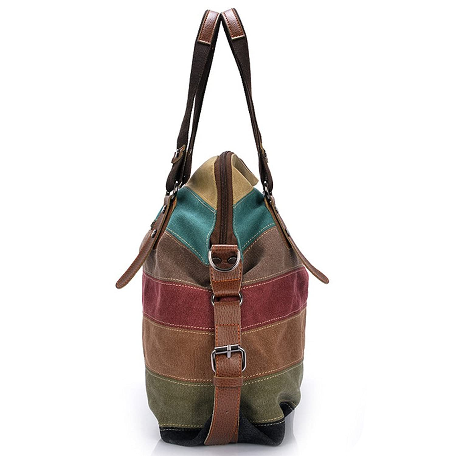 7cceb4d1546d Vintage Canvas Tote Bags for Women Casual Big Handbags Shoulder Bag