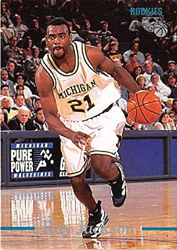 Ray Jackson basketball card (Michigan Wolverines NCAA Fab Five) 1995 Classic #70 Rookie (Ncaa Card Basketball)