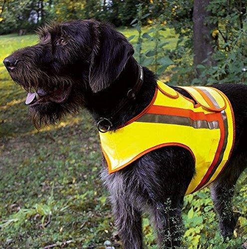 HUNDE-SIGNALWESTE Reflektorweste Hunde-Warnweste AKAH große Hunde