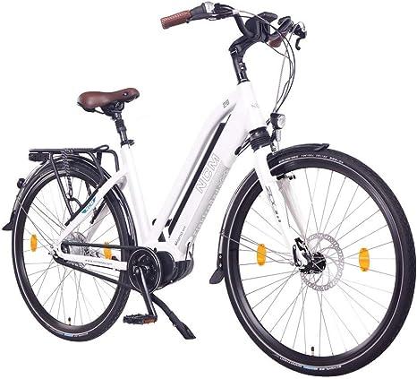 NCM Milano MAX N8R Bicicleta eléctrica, Bicicleta de Trekking ...