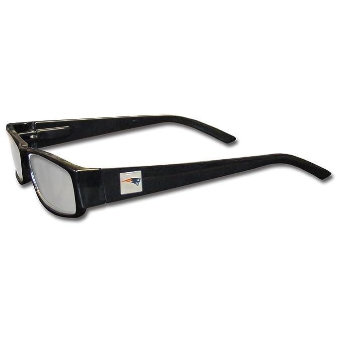 0e100d49 NFL Black Reading Glasses (+2.00, New England Patriots)