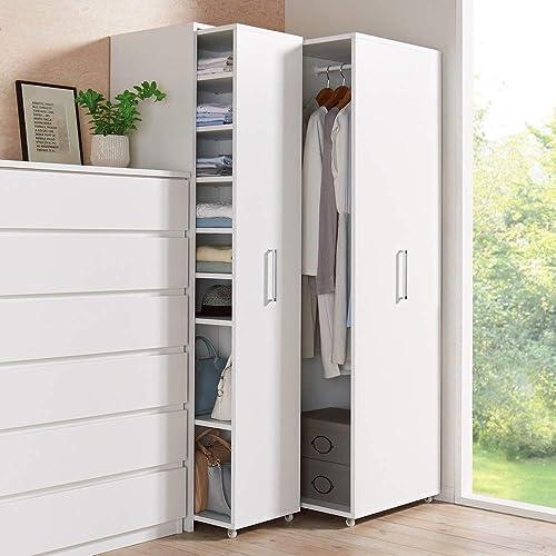 ディノス 薄型で隠せる収納 衣類収納ロッカー 棚タイプ