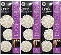 Ball light Christmas LED Starlight Sphere,Warm White, Sparkle effect,Set of 3, Indoor / Outdoor Lights - 3 packs