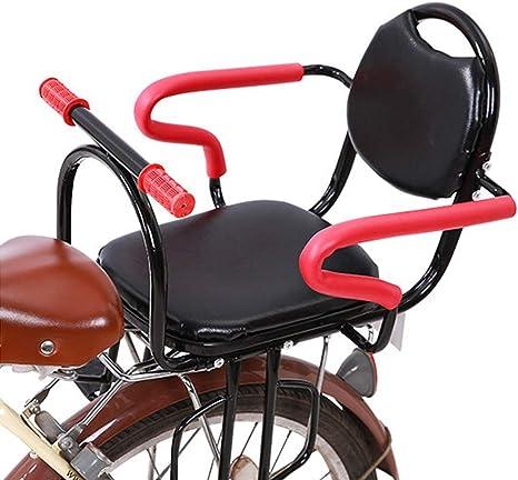 YXZN Niños Asientos de Bicicleta para niños Asiento de Seguridad ...