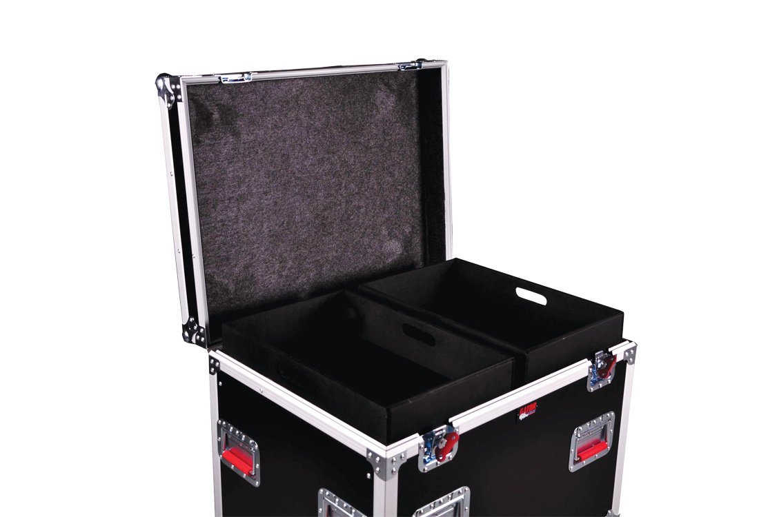 Gator G-TOURTRK302212 Truck Pack Trunk, 30 x 22 x 22 Inches, 12mm with Dividers by Gator