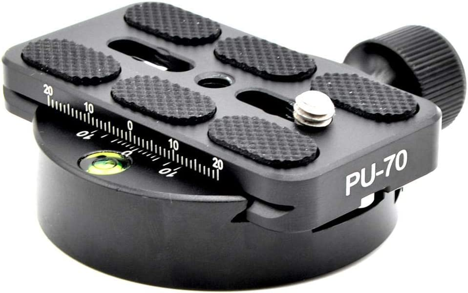 Universal QR Clamp with Quick Release Plate Aluminum Alloy Tripod,KZ-40