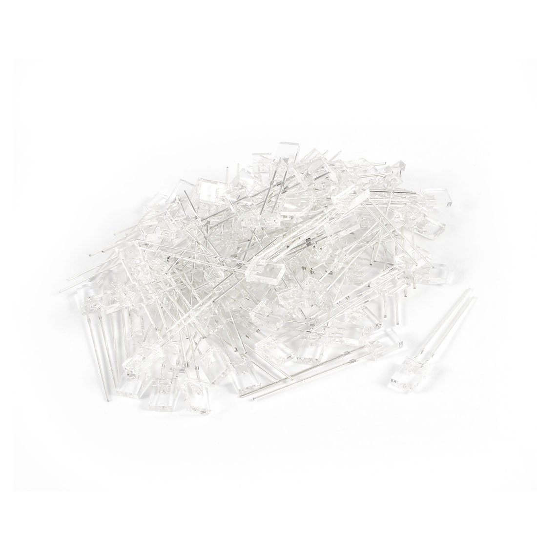 100pcs DC 3.0-3.2V 20mA LED Lamps 2mm x 3mm x 4mm White Light Emitting Diodes