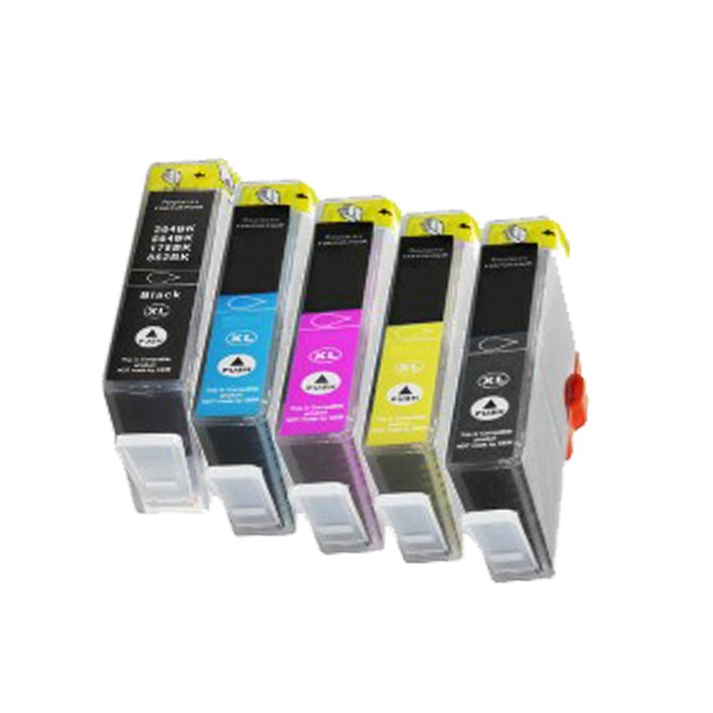 5 Cartuchos de Tinta para HP Deskjet 3070 A Deskjet 3520 ...