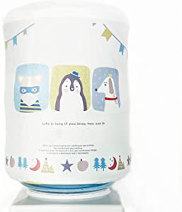Chemstar Water Dispenser Durable Dust Proof Fabric Bucket Covers for 5 Gallon Water Jug Bottle (Cute Animals)