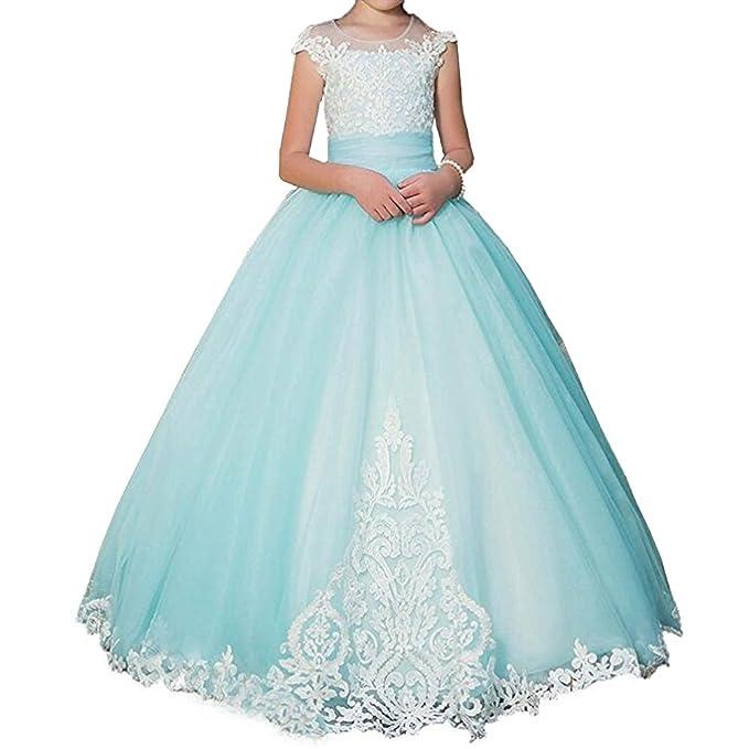 Amazon.com: Kalos vestido tienda Cap manga de princesa de ...