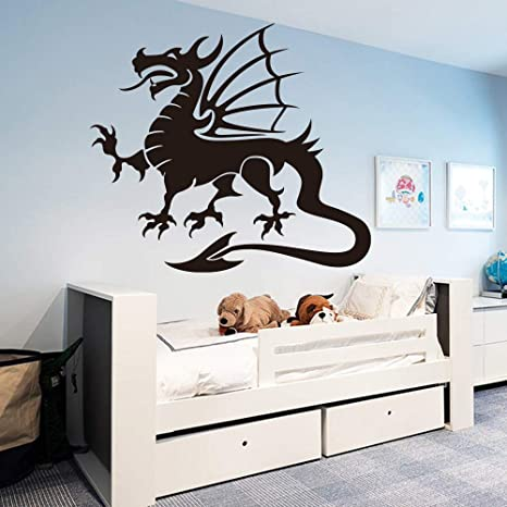 Flying Dragon Wallpaper Hogar Dormitorio Decoración
