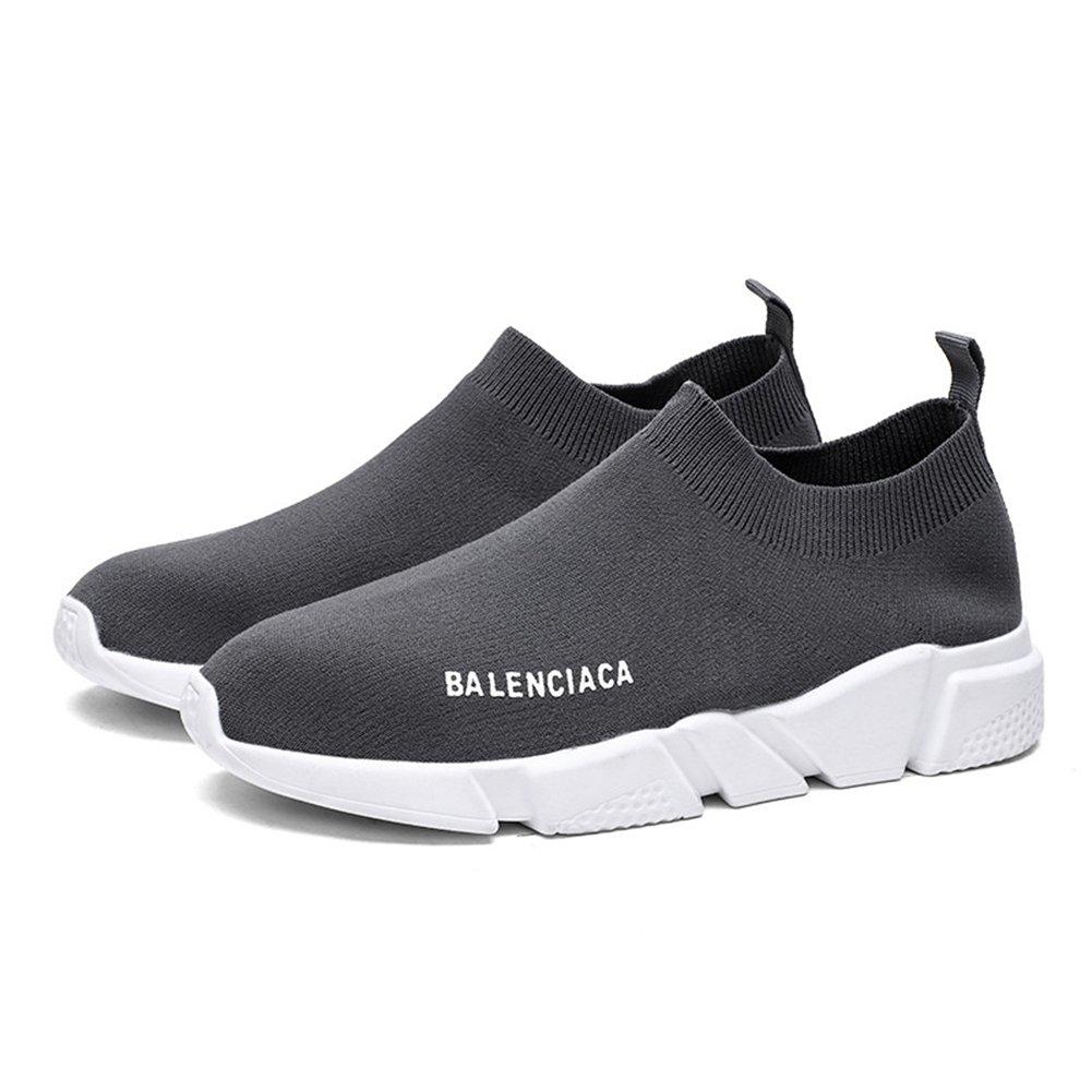 New Calzado Casual de Punto para Hombre/Mujer Calcetines Elásticos de Primavera/Otoño Zapatillas de Deporte Calcetines de Malla Transpirable/Ligera para ...