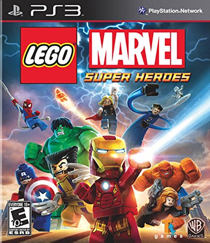 Lego: Marvel Super Heroes - PlayStation 3 (Best 4 Player Wii Games)