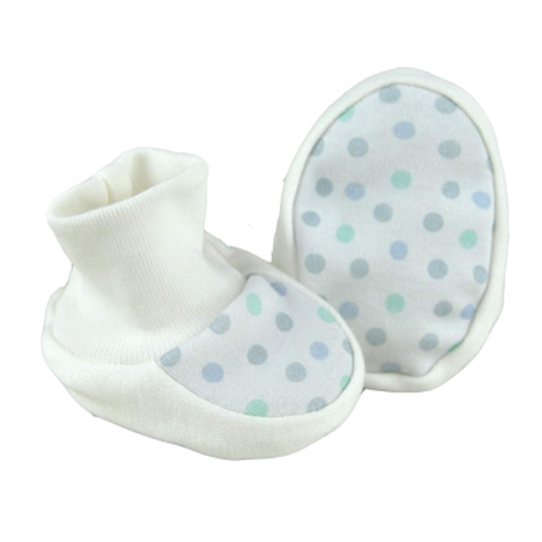 For Babies Gr/ün 100/% Bio-Baumwolle Erstlingsschuhe Babyschuhe Babysocken f/ür M/ädchen und Jungen Made in EU