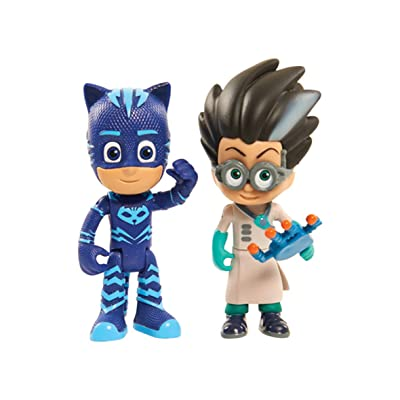Just Play JPL24811 PJ Masks Light Up Figures Catboy vs Romeo, One Size, Multicolor: Toys & Games [5Bkhe0301650]