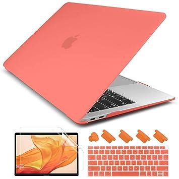 Amazon.com: Dongke - Carcasa rígida mate mate para MacBook ...