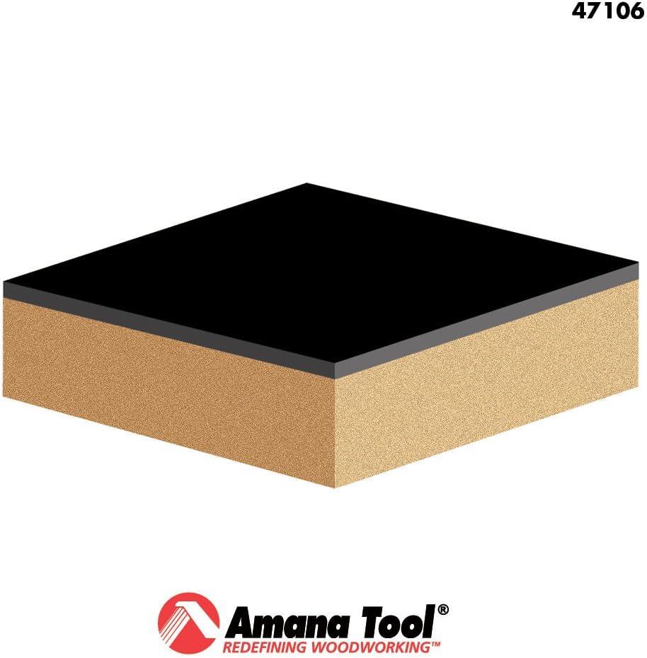 Amana Tool 47106 Carbide Tipped Flush Trim 1//2 Dia x 1//2 x 1//4 Shank