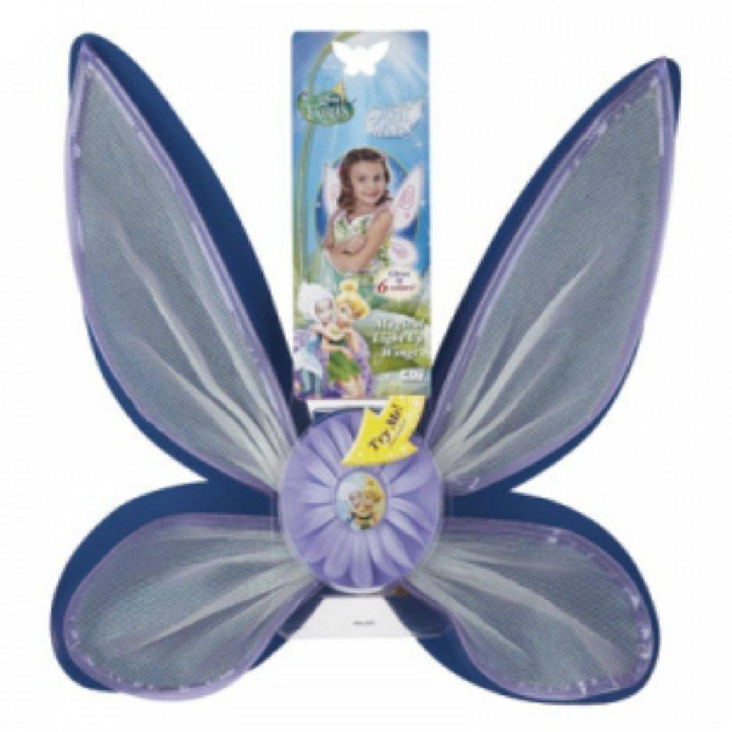 amazon com disney fairies magical light up wings toys u0026 games
