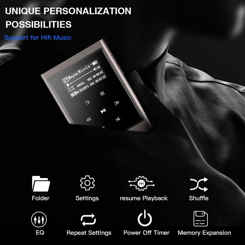 b27d00e03c1 Amazon.com  AGPTEK IMP HIFI 16GB MP3 Player