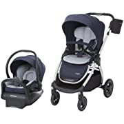 Maxi-Cosi Adorra Modular 5-in-1 Travel System with Mico Max 30 Infant Car Seat, Brilliant Navy