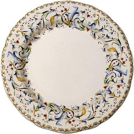 """Gien France, Toscana, Rim Soup Bowl, 9"""" diameter, Made in France"""