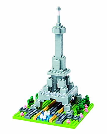 Amazon Nanoblock Eiffel Tower Toys Games