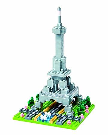 Amazon Nanoblock Eiffel Tower Toys Games