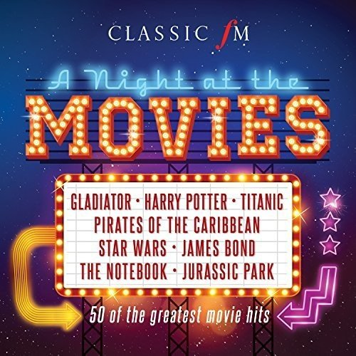 CD : Classic FM: Night At The Movies / Various (United Kingdom - Import)