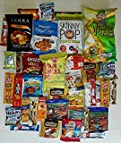 Cheap EVA Care Package (40 Count) Variety Snacks Box – College Students, Military, Work or Home – Over 3 Pounds of Chips Cookies & Healthy Candy!