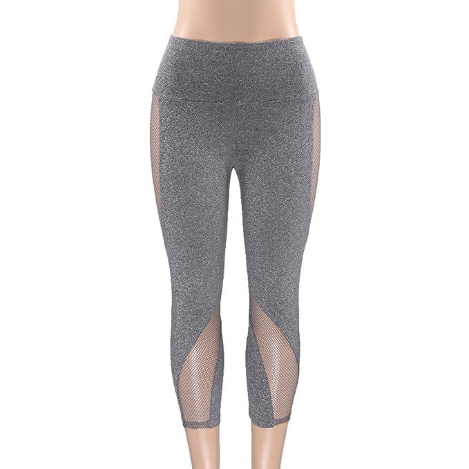 Leggings Deporte Mujer Mallas Fitness Mujeres Pantalones Polaina ...