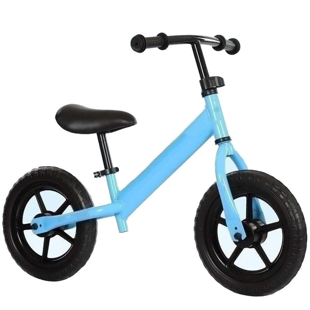 Blau YUMEIGE Laufräder 12 Zoll Laufräder   Laufräder kinderlaufrad   Mit einem Schaumrad   Laufrad - Geeignet für Kinder 33-45 cm groß 4 Farben (Farbe   Blau)