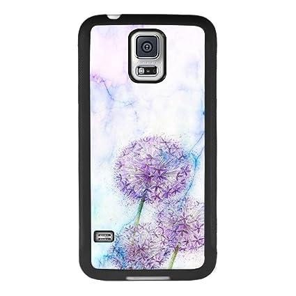 Amazon.com: Carcasa para Samsung Galaxy S5, diseño de copo ...