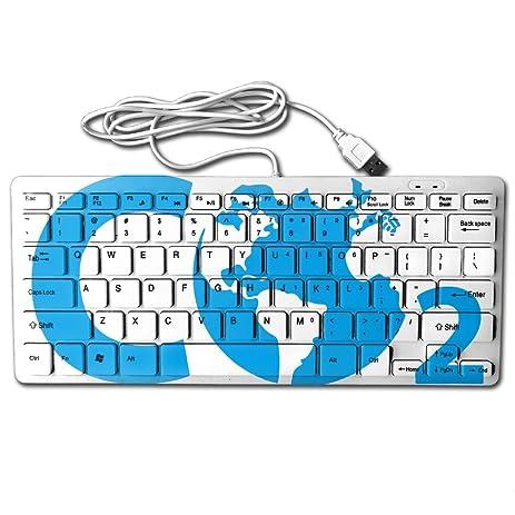 Amazon Chemical Symbol Co2 Mini Keyboard Wired Thin Light 78
