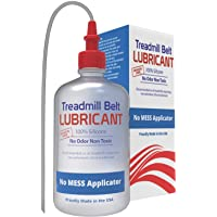 Treadmill Belt Lubricant | 100% Silicone | USA Made | No Odor & No Propellants | Applicator Tube for Full Belt Width…