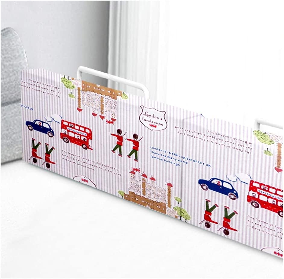 8 Colors 8 Sizes Foam Baby Bed Bumper Pads Safety Bedside Rail with Washable Cover Easy to Install Color : A, Size : 50cm LIQICAI Bed Rail for Toddlers and Kids
