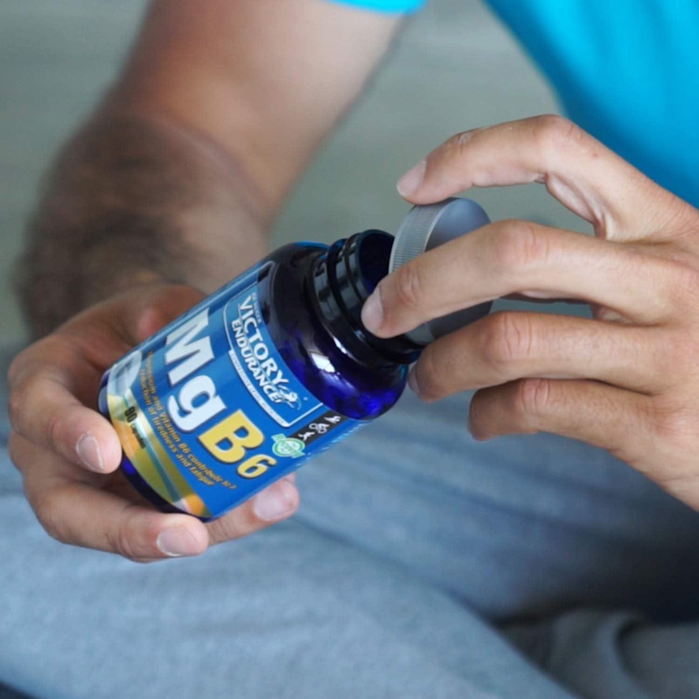 Victory Endurance MGB6. Magnesio con Vitamina b6. Ideal para ...