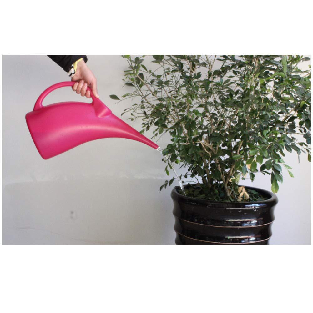 contenedor de regadera Boquilla Larga para regar Plantas de jard/ín PE Danigrefinb regadera de Gran Capacidad ecol/ógica