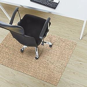 Design Bodenschutzmatte Verona in 6 Größen | dekorative Unterlegmatte für Bürostühle oder Sportgeräte (120 x 90 cm)