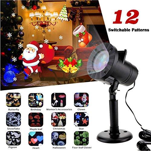 Riipoo LED Projector Lights, Christmas Halloween Projector Lights