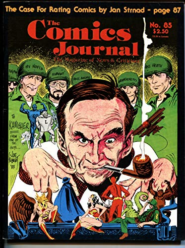 Comics Journal #85-1983 First BLACK COSTUME SPIDER-MAN VF ()